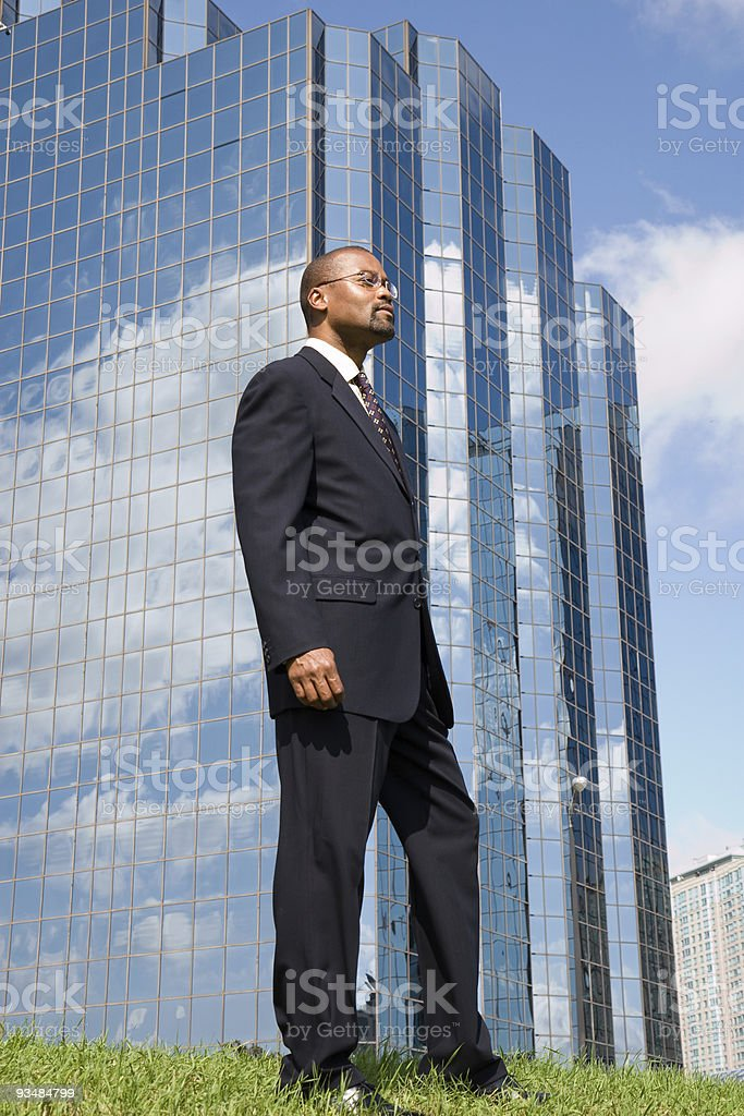 business profile stock photo