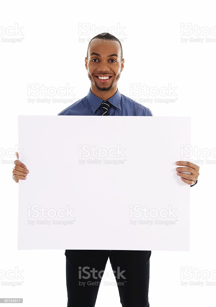 Business Promotion royalty-free stock photo