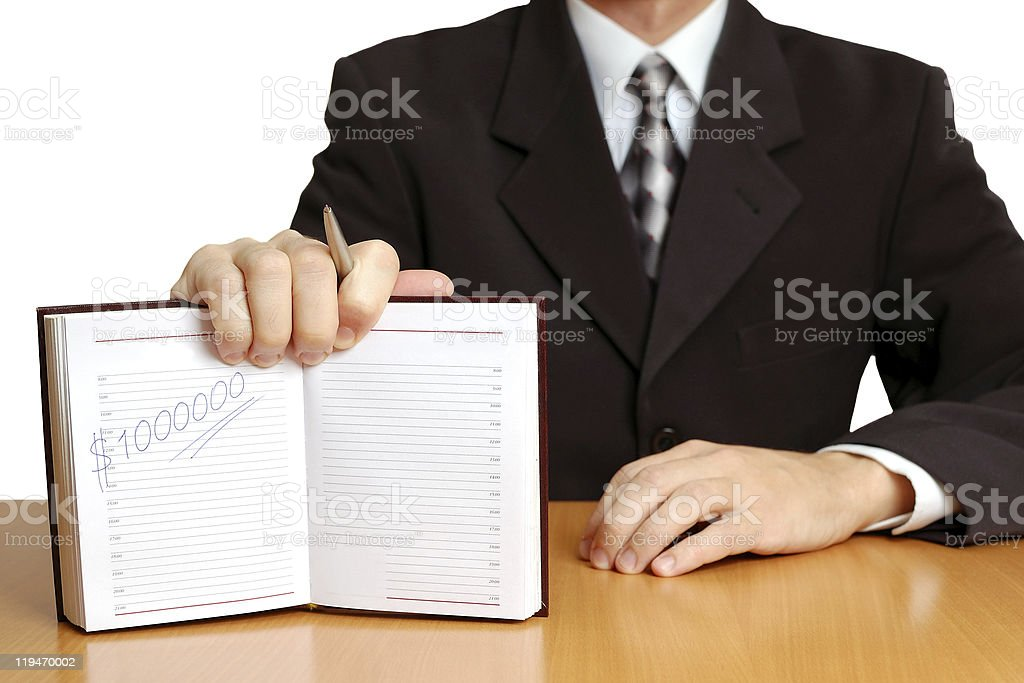 Business proposal royalty-free stock photo