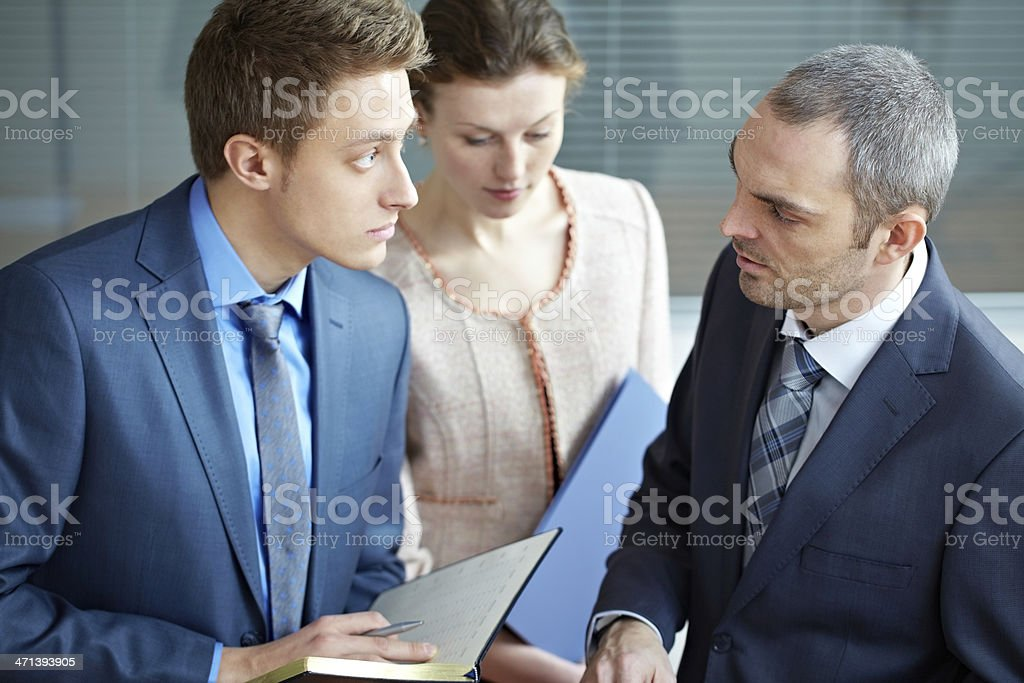 Business questions royalty-free stock photo