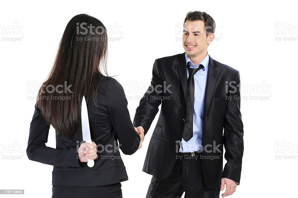 business relationship royalty-free stock photo