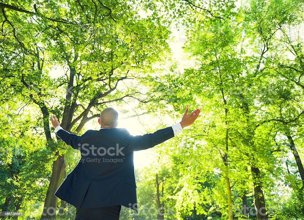 Business Relaxation royalty-free stock photo
