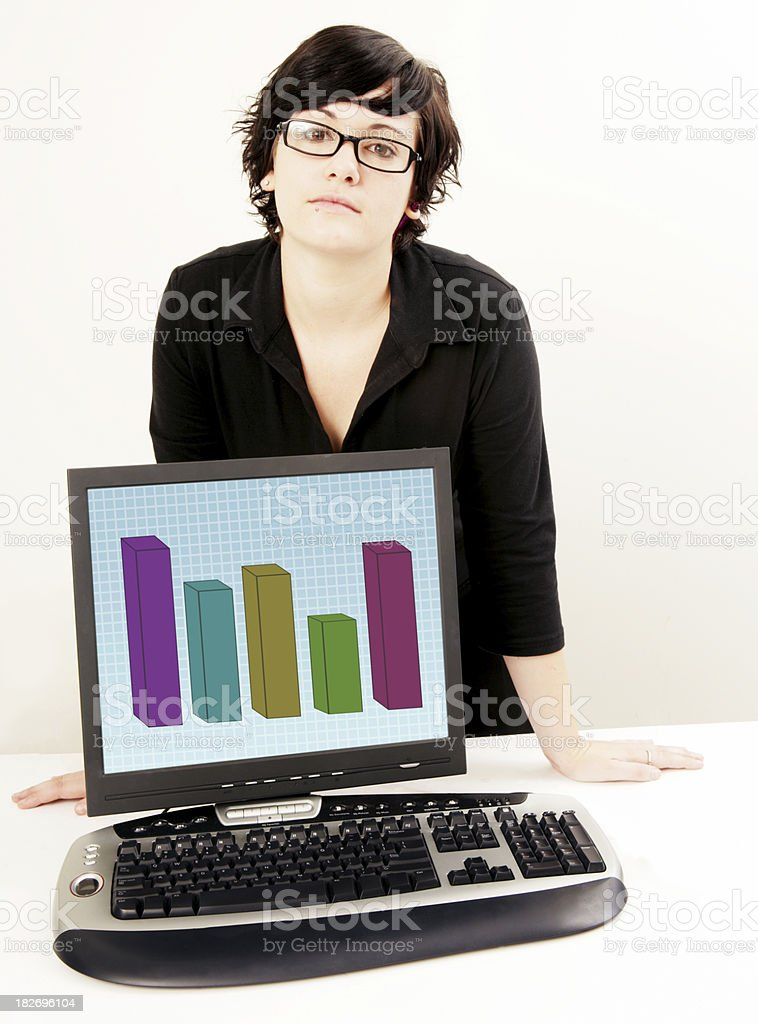 Business Results stock photo