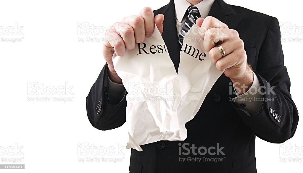 Business Resume royalty-free stock photo