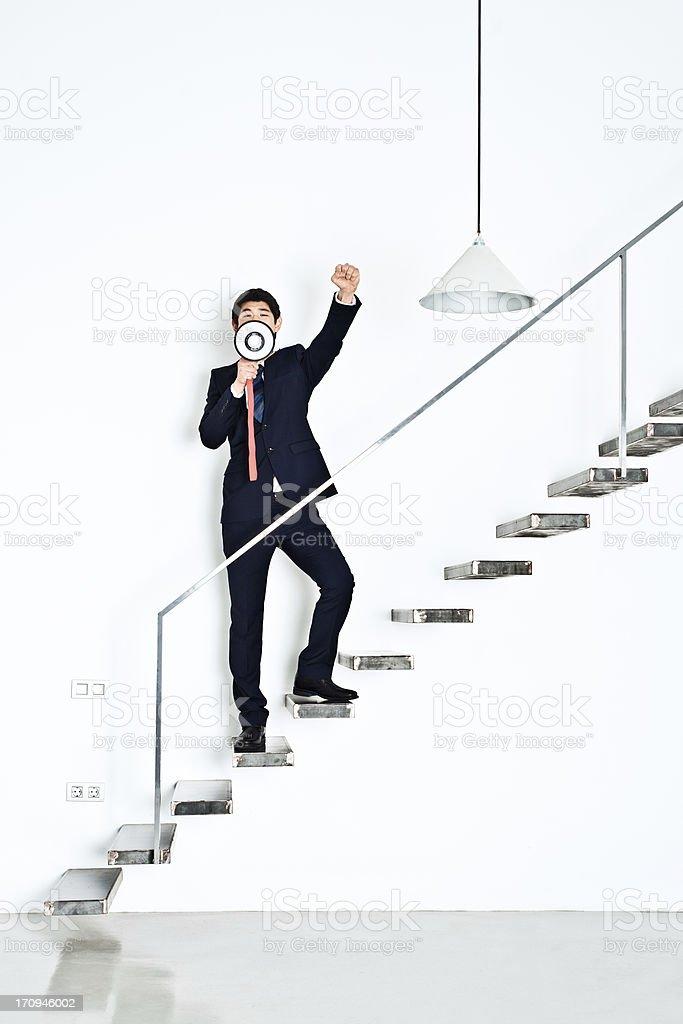 Business revolution royalty-free stock photo