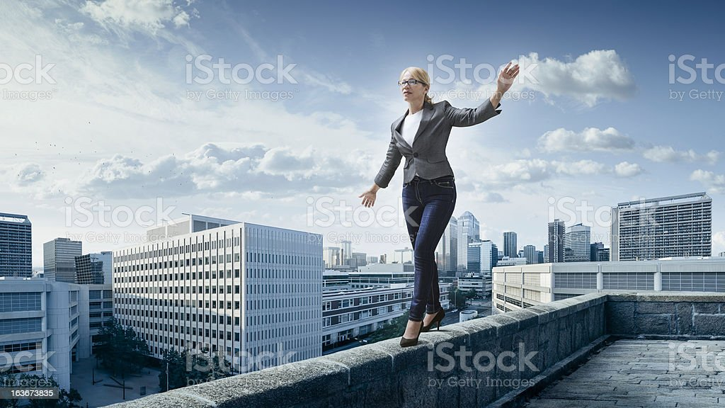 Business risks. stock photo