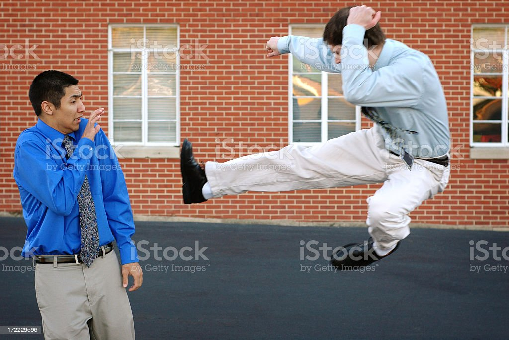 Business Rivalry royalty-free stock photo