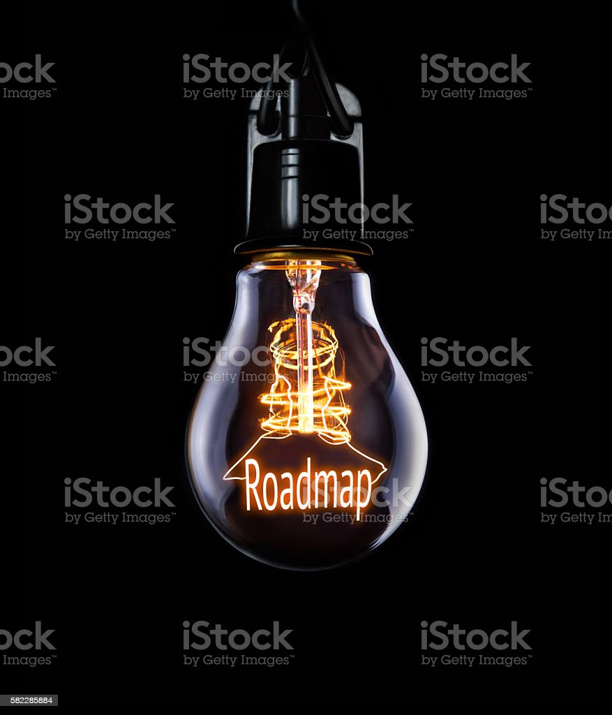 Business Roadmap Concept stock photo