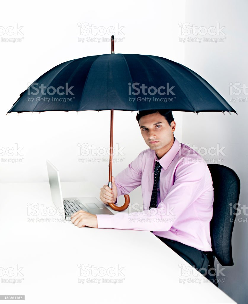 Business security royalty-free stock photo