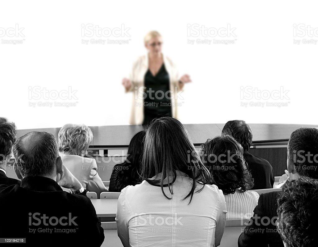 Business Seminar royalty-free stock photo