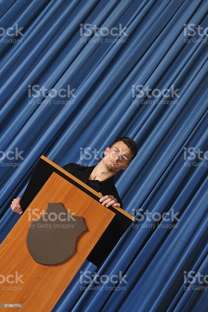 Business Seminar Speaker royalty-free stock photo