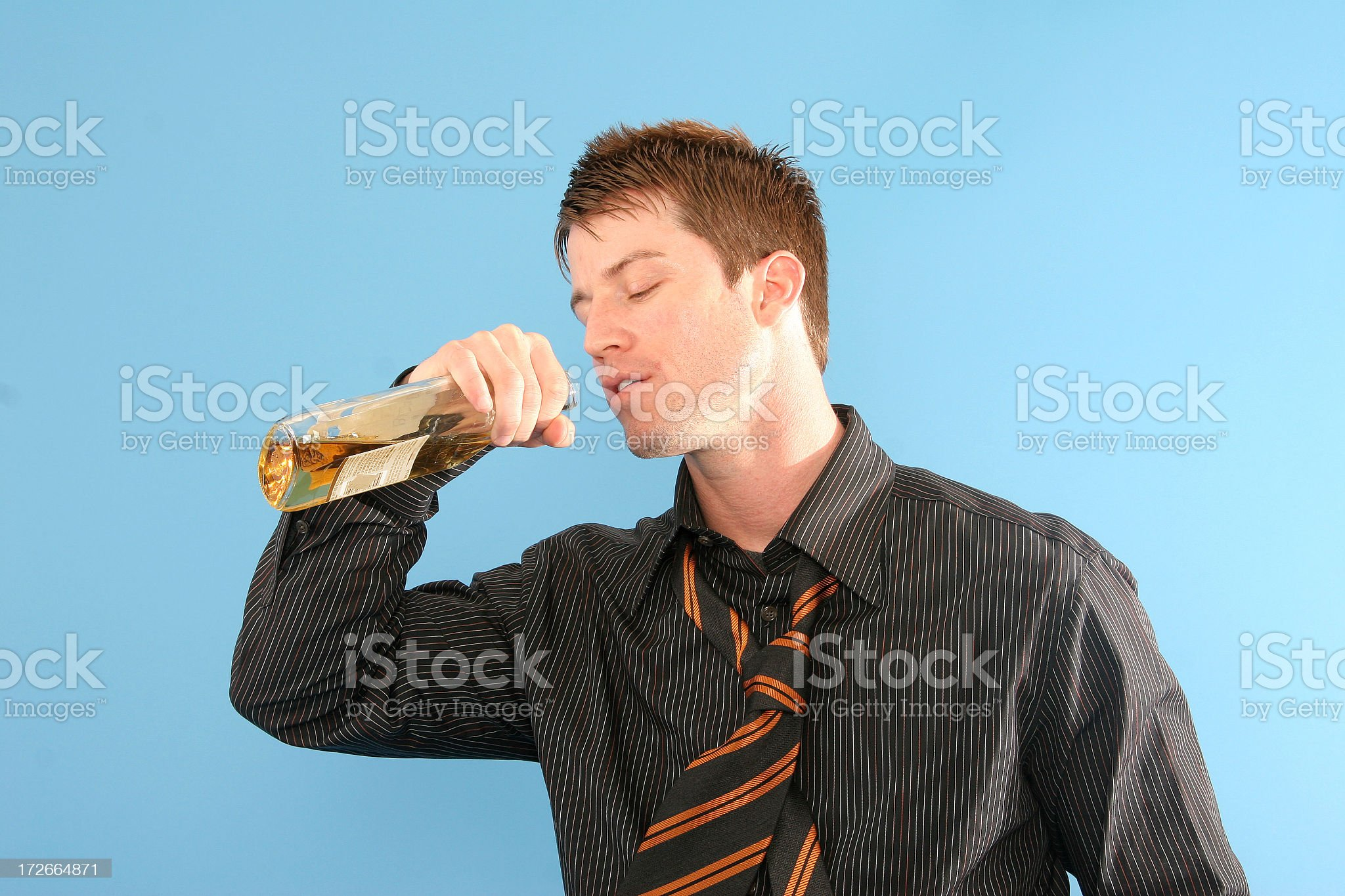 Business Series: Alcoholic. royalty-free stock photo