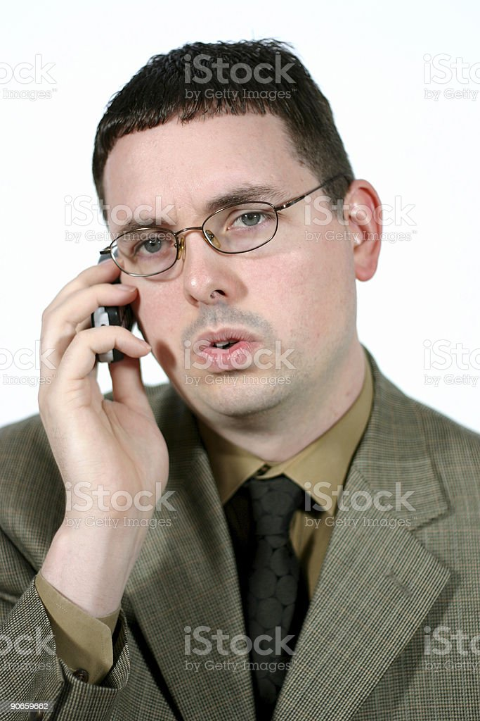 Business series: Bad news. stock photo