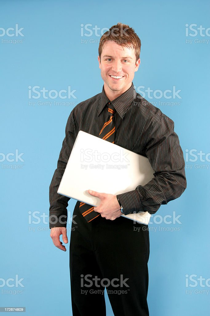 Business Series: Off to a meeting. stock photo