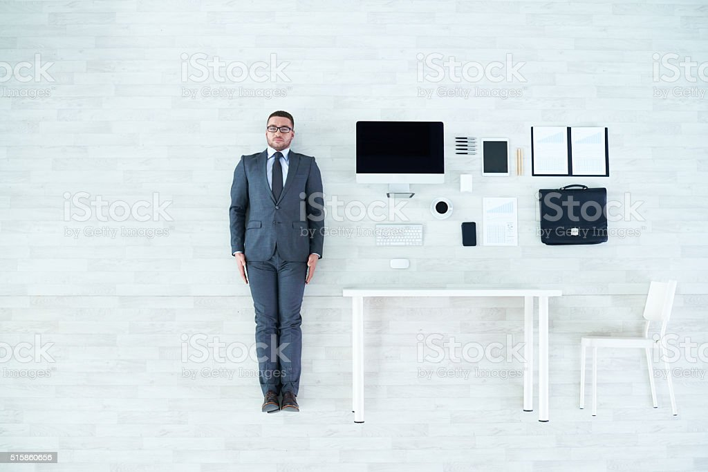 Business set stock photo