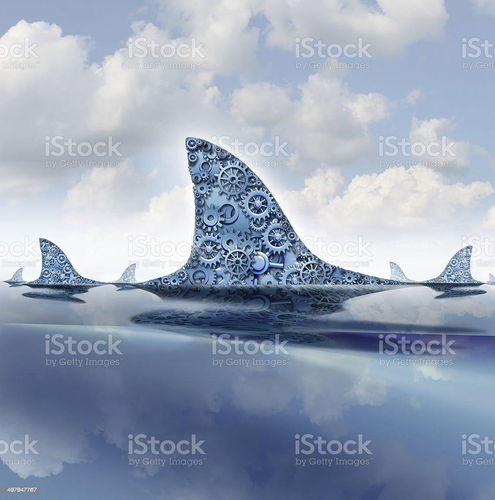 Business Shark stock photo