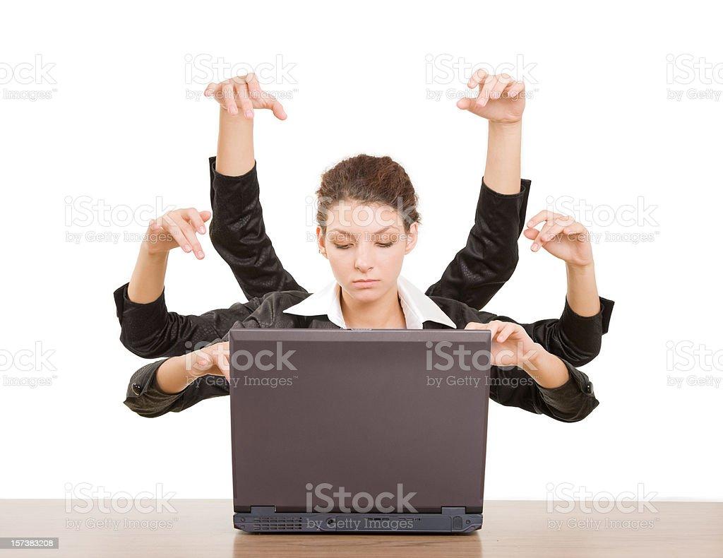 Business Shiva stock photo