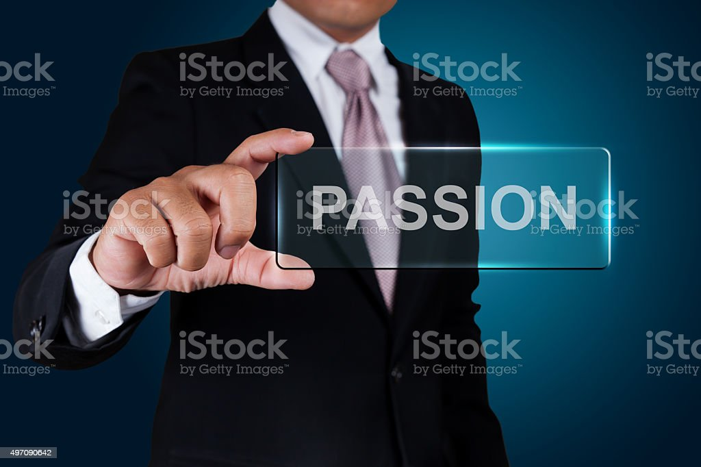 Business show text label. stock photo