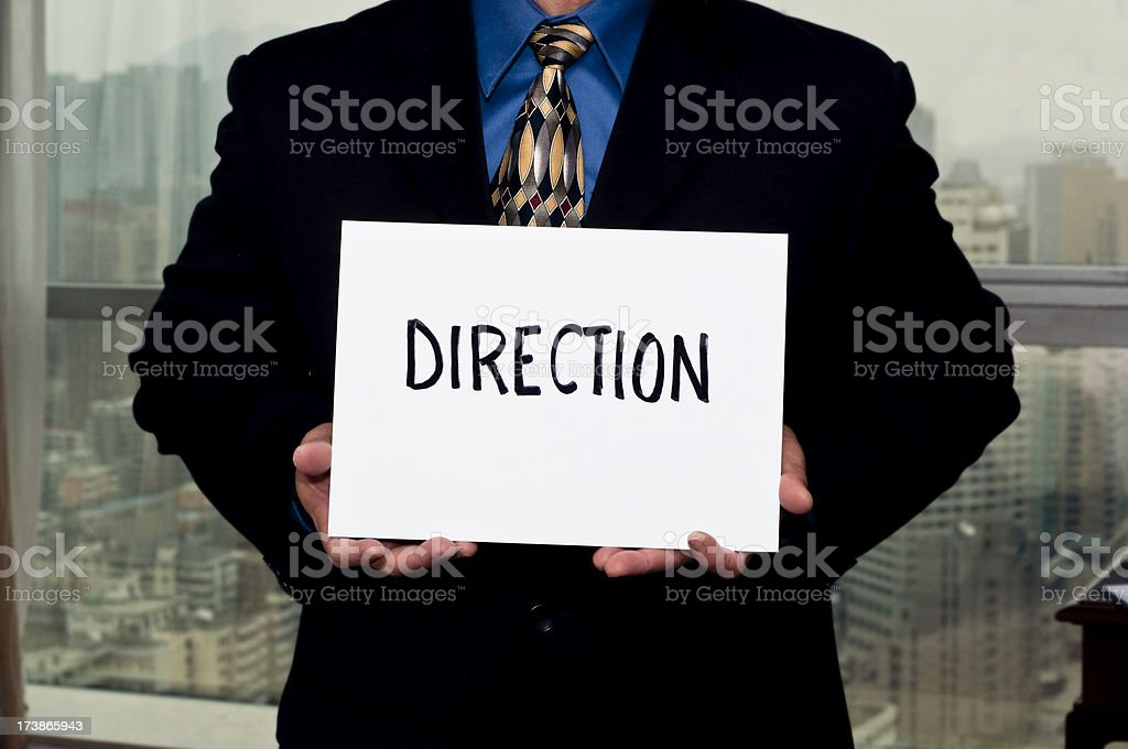 Business Sign Direction royalty-free stock photo