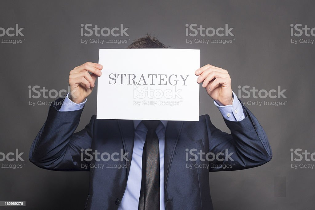 Business Sign Strategy royalty-free stock photo