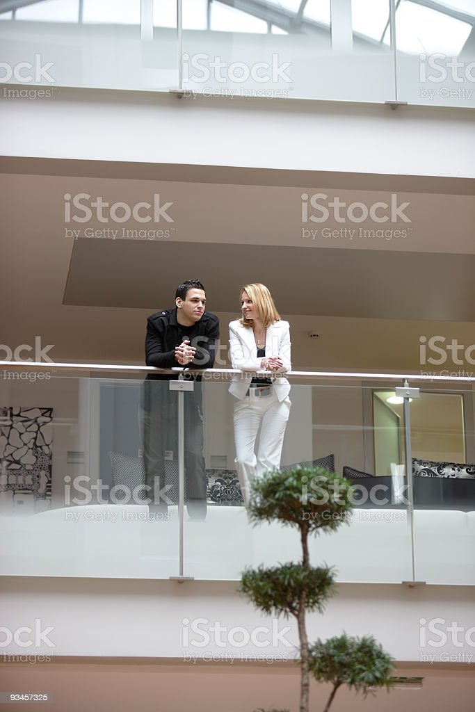 Business Small Talk royalty-free stock photo