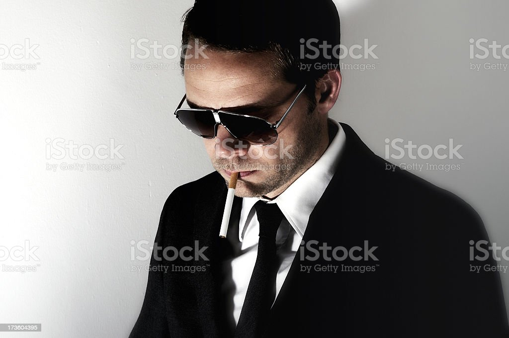 business smoker royalty-free stock photo