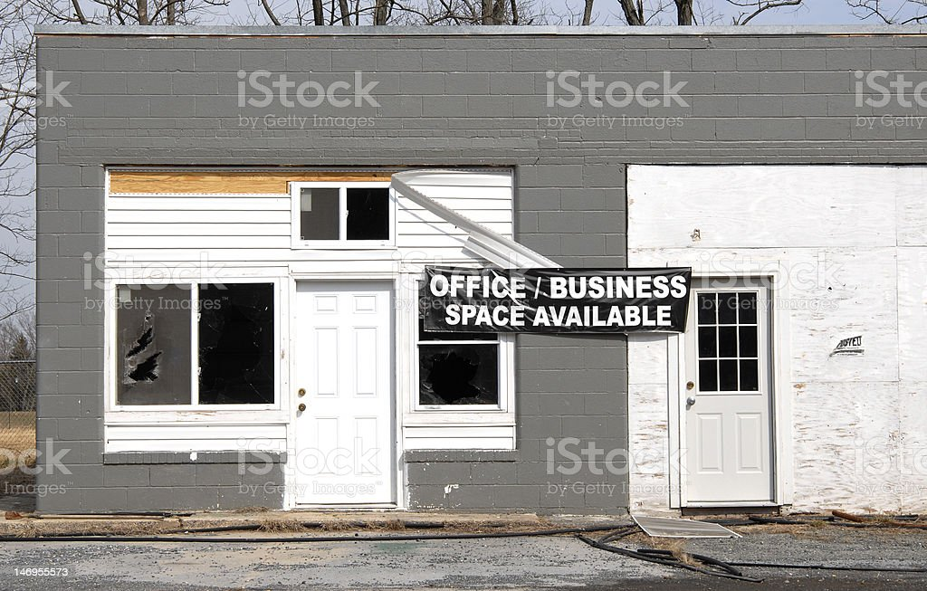 Business Space Available royalty-free stock photo