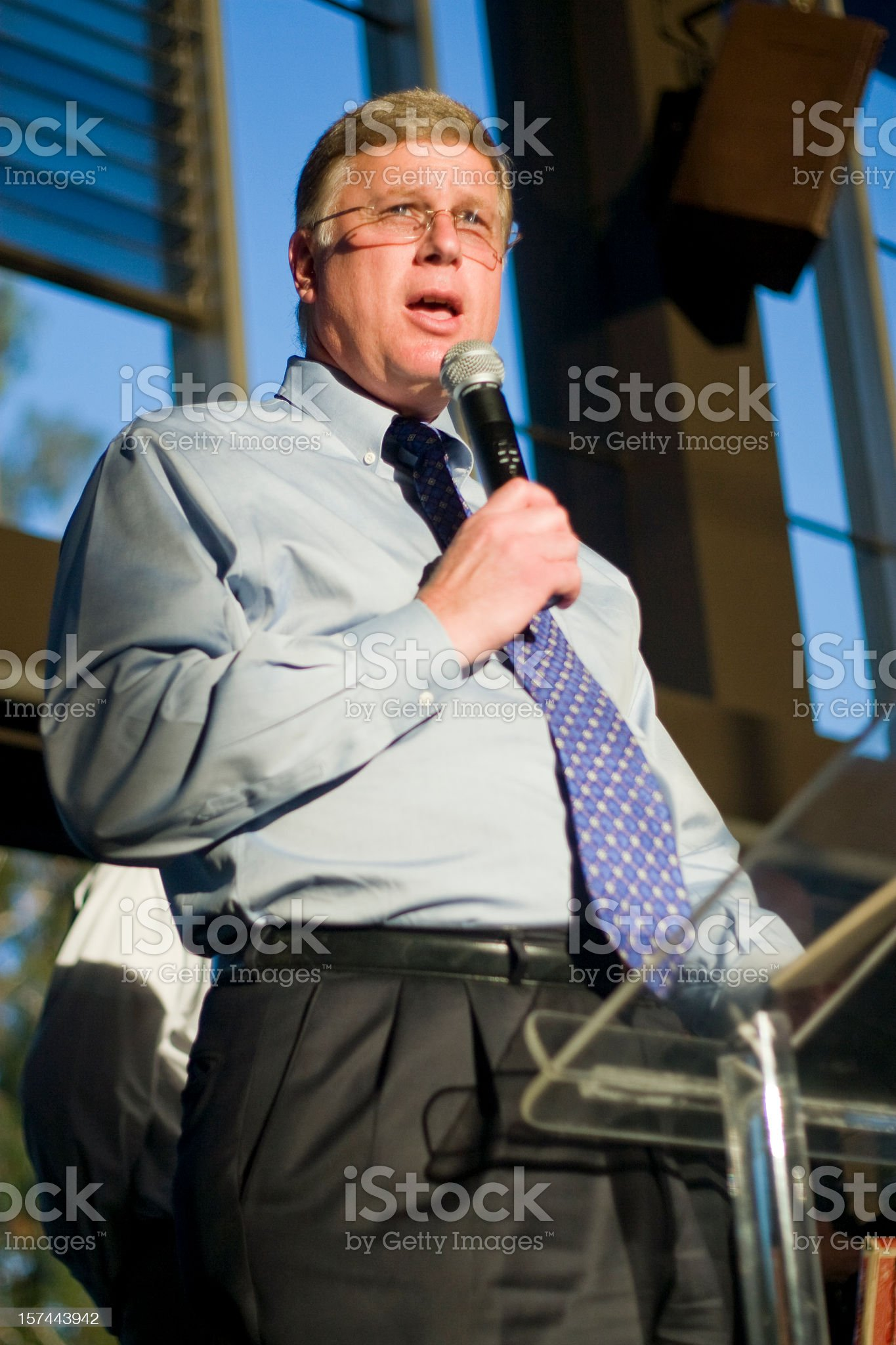 Business Speaker royalty-free stock photo
