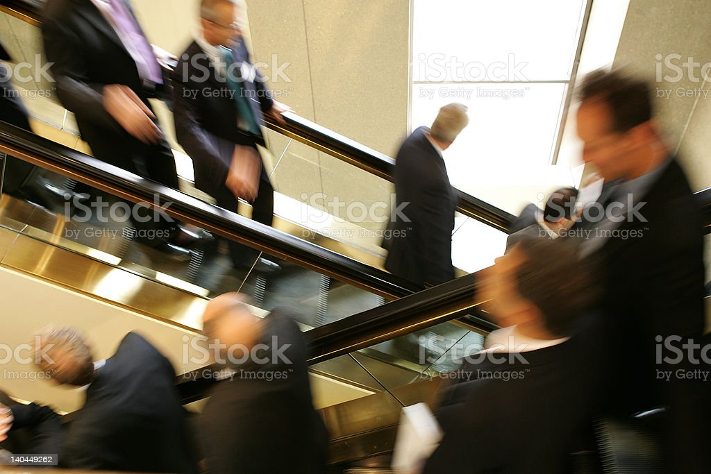 Business stair royalty-free stock photo