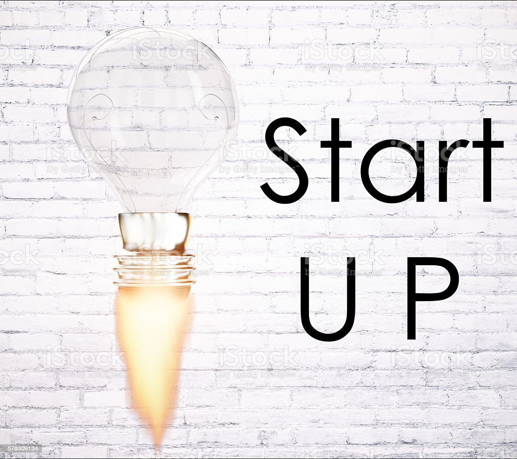 Business startup concept stock photo