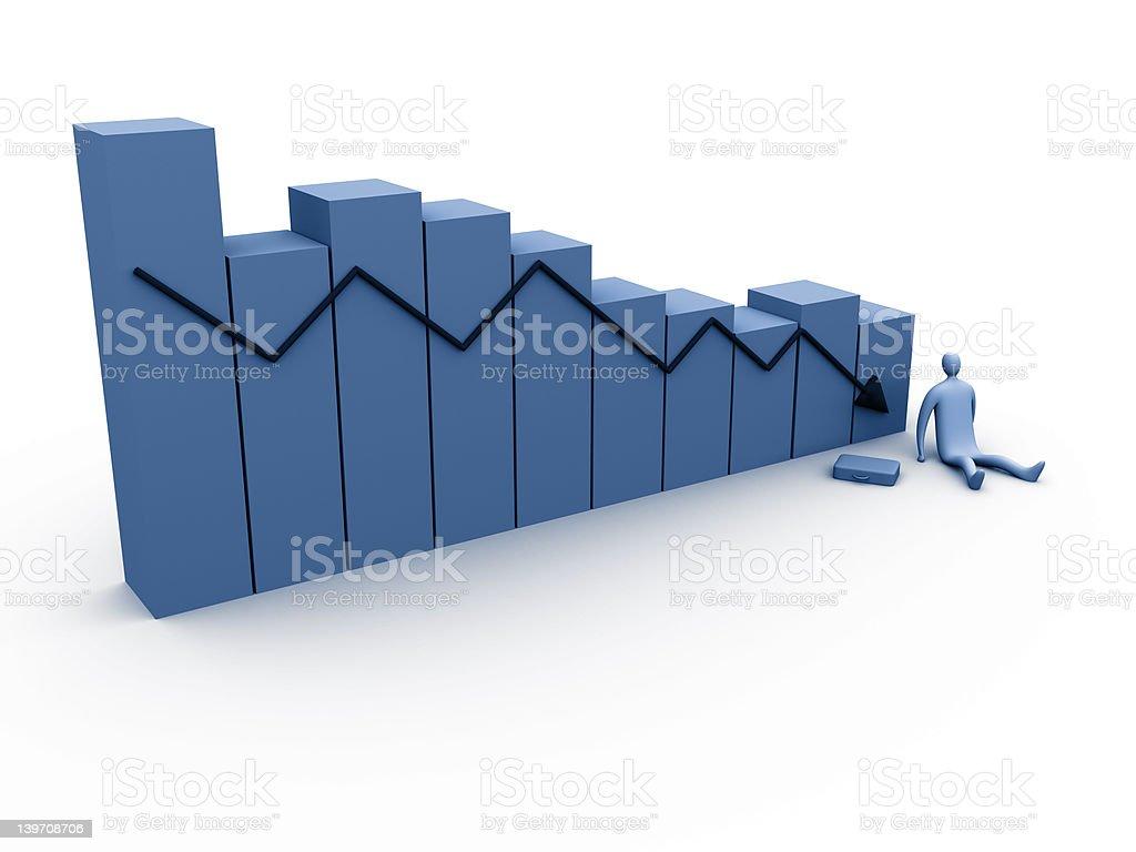 Business Statistics #6 royalty-free stock photo
