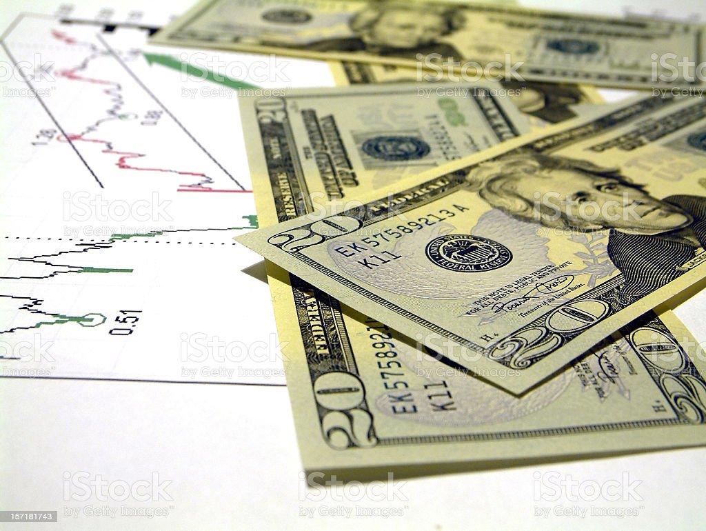 business - stock exchange profit stock photo