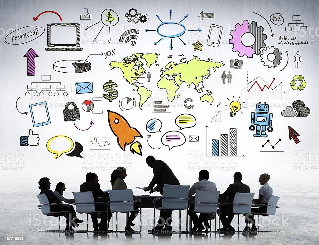 Business Strategic Planning stock photo