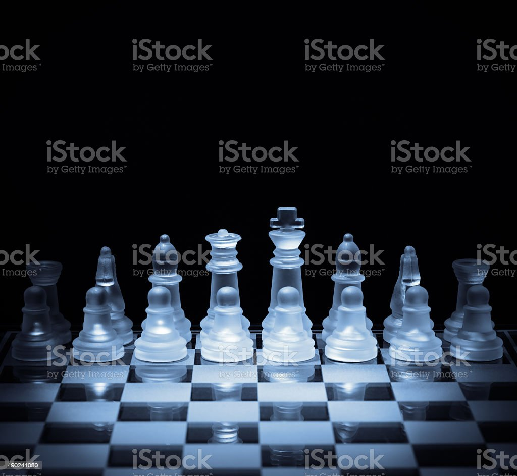 Business strategy and competition stock photo