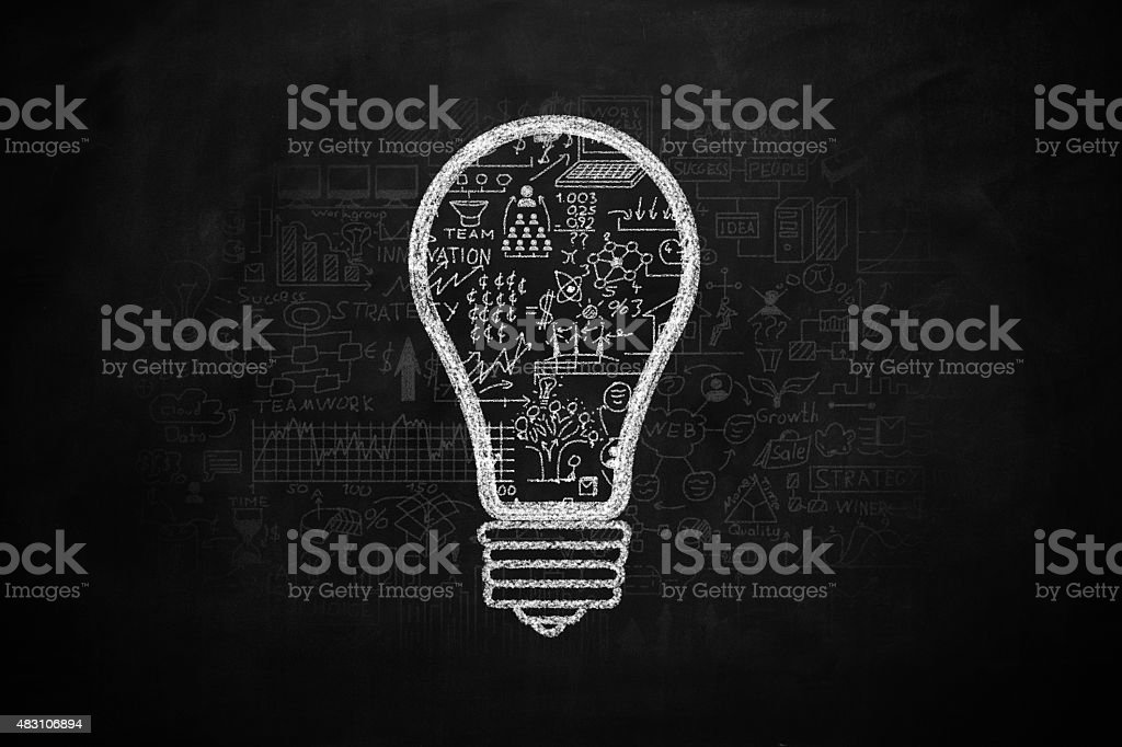Business strategy concept stock photo