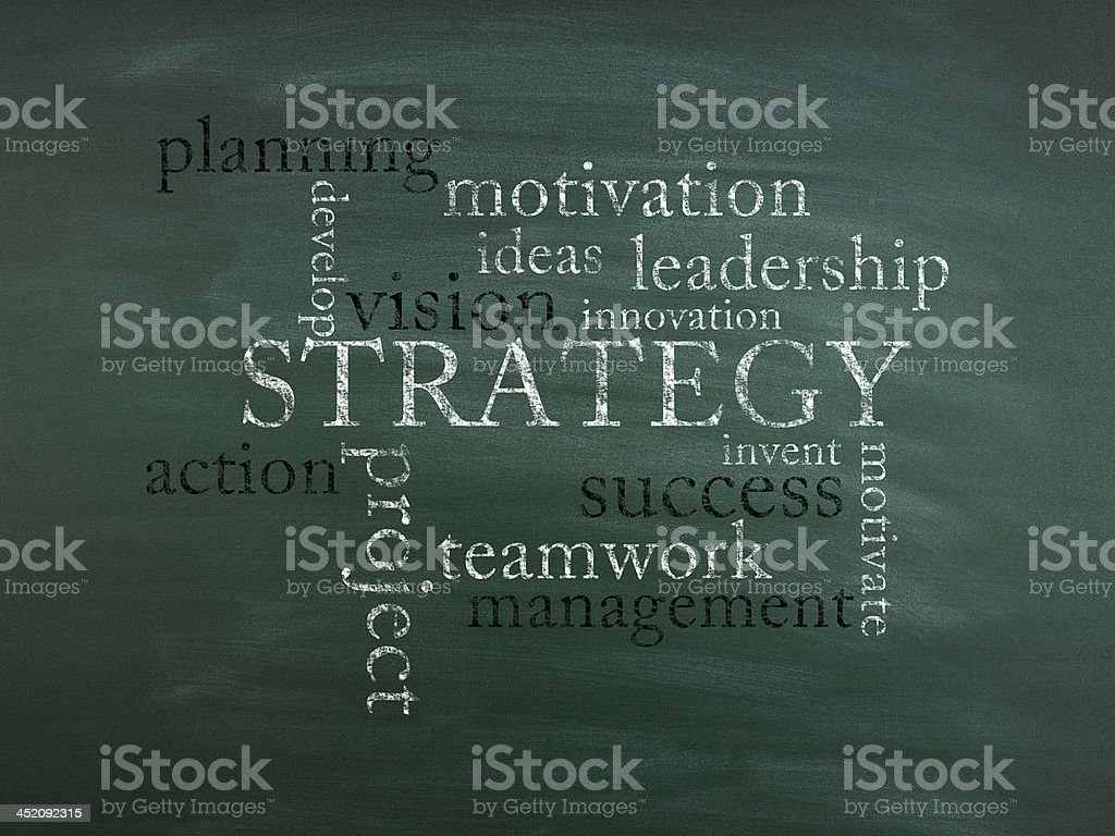 Strategy (Click for more) stock photo