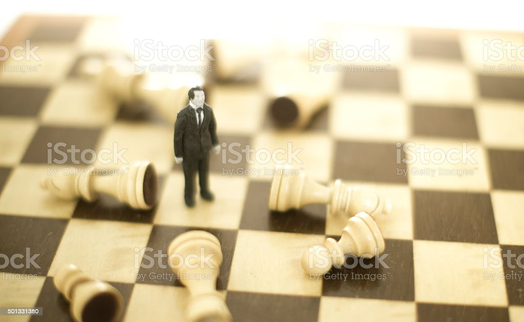 business strategy game stock photo