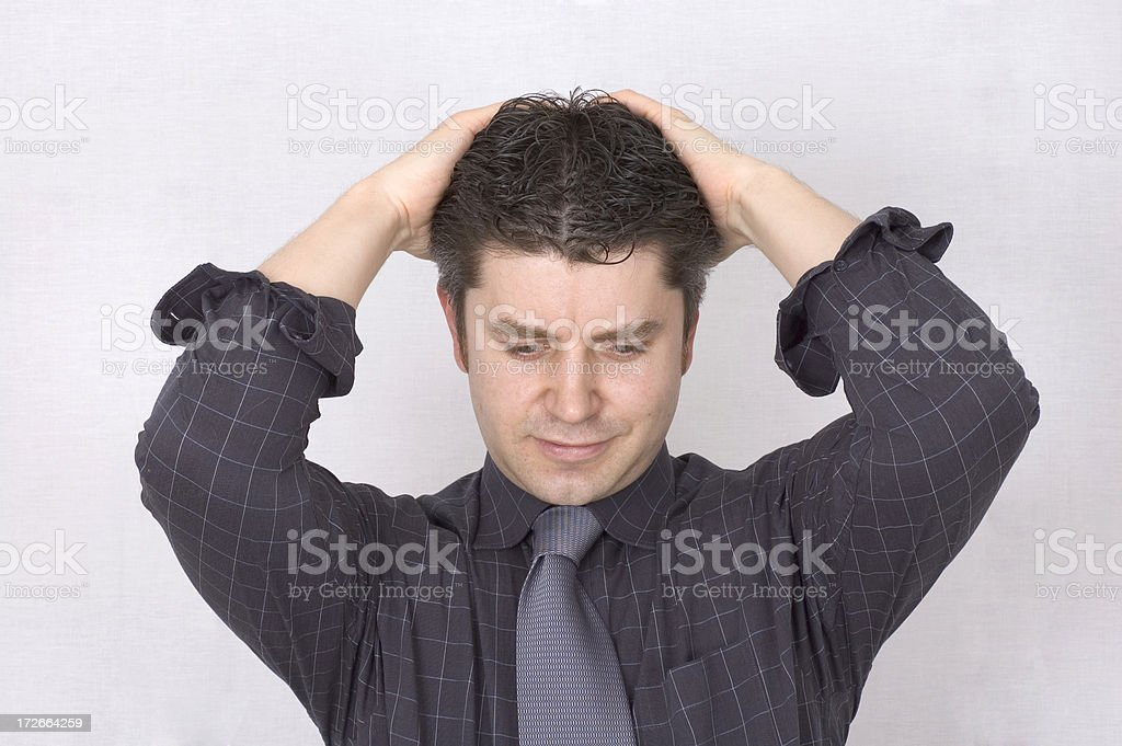 Business Stress royalty-free stock photo