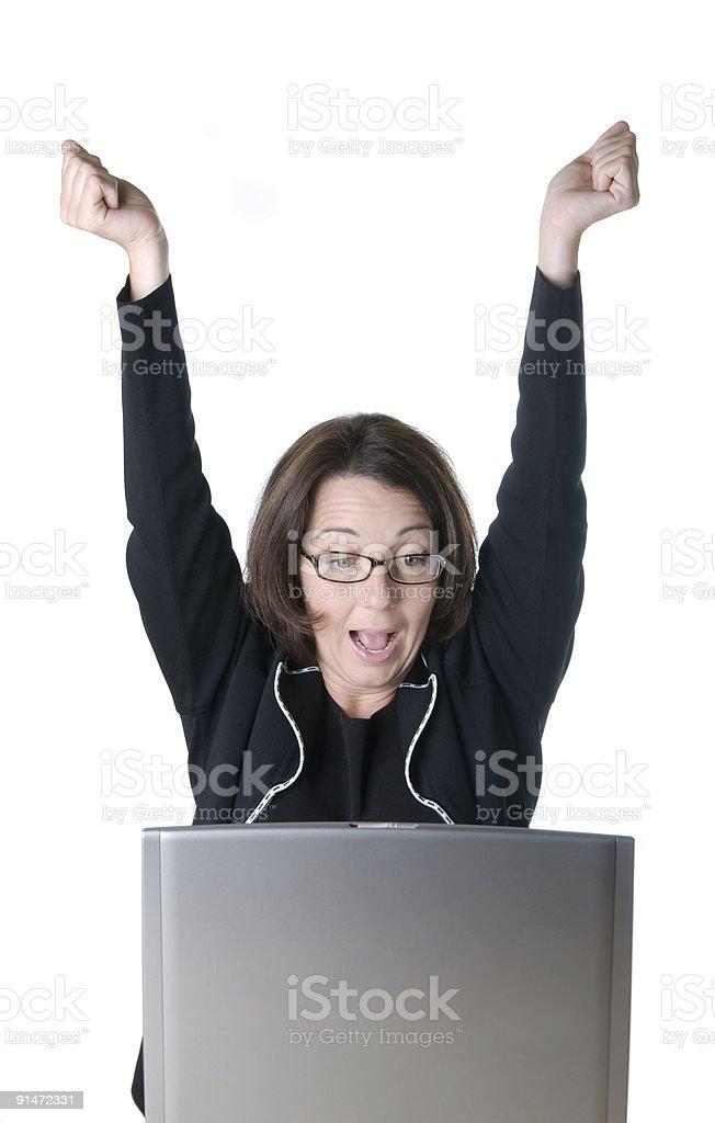 Business Success Excitement stock photo