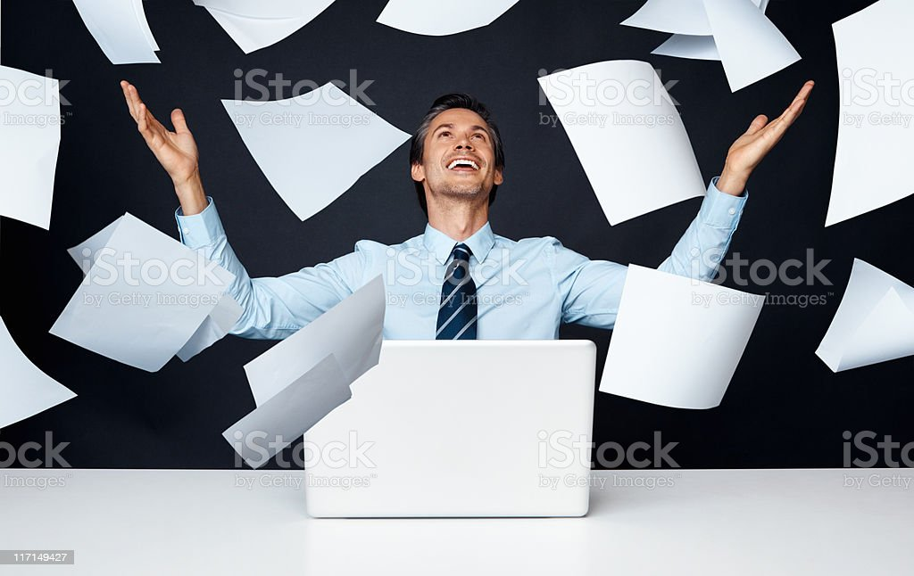 Business success royalty-free stock photo