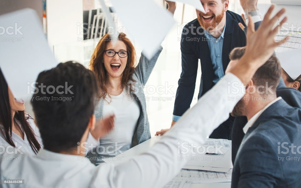 Business success. stock photo