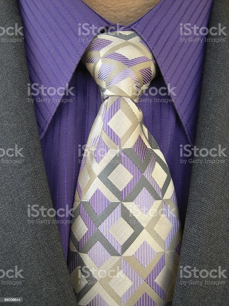 business suit and tie - see our whole collection royalty-free stock photo