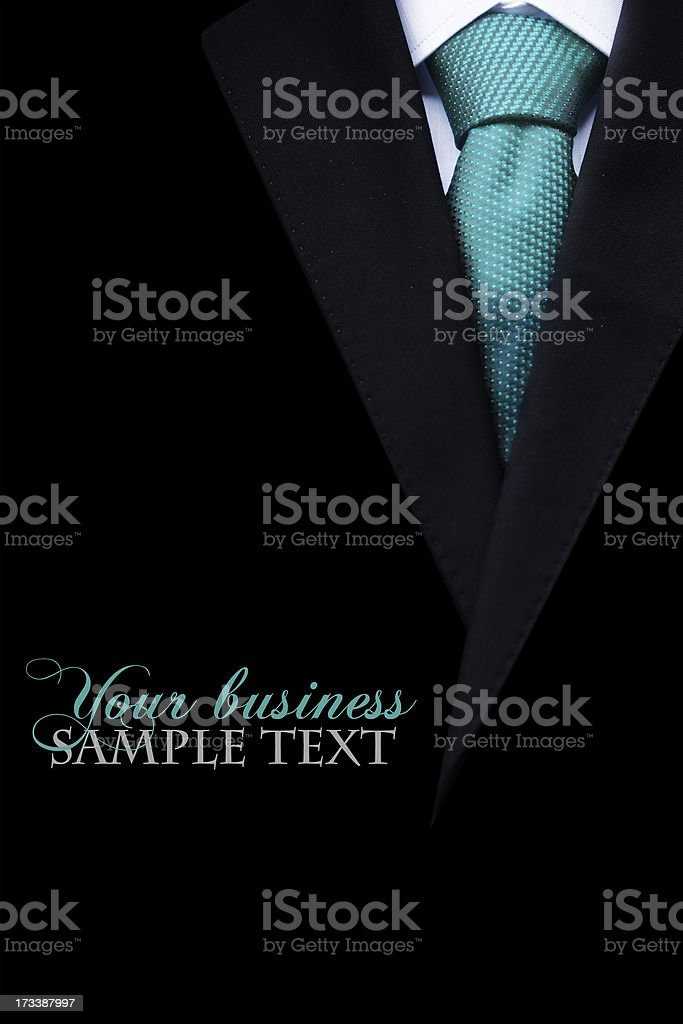Business suit royalty-free stock photo