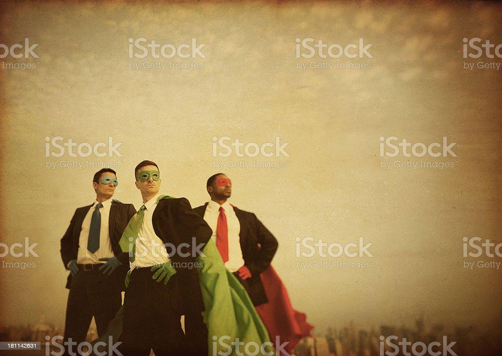 Business Superheroes stock photo