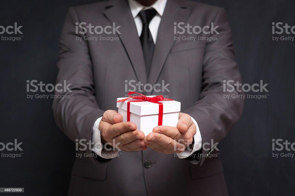 Business Surprise stock photo