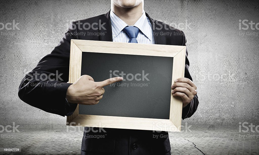 Business swith frame stock photo
