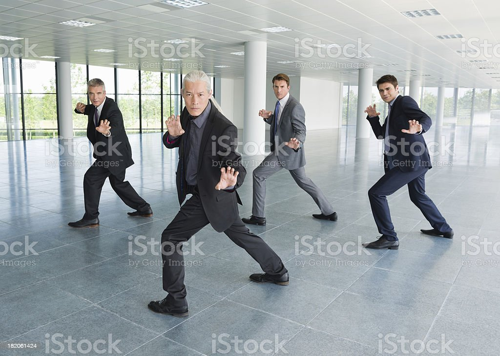 Business Synchronicity stock photo