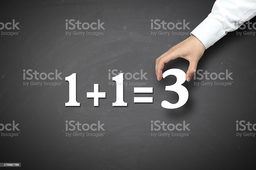 Business Synergy Concept stock photo