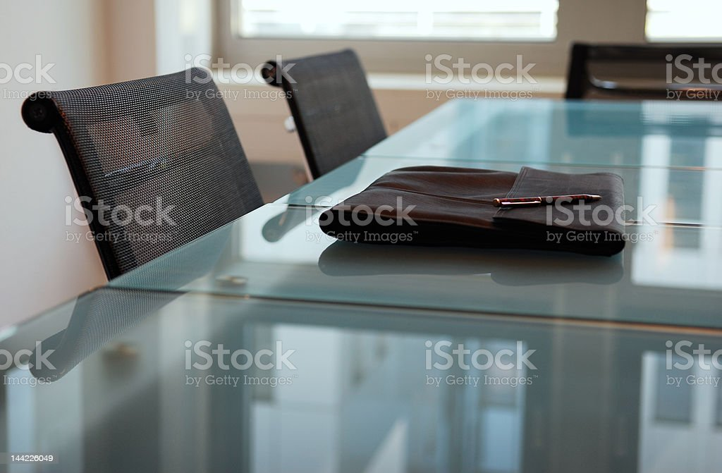 business table royalty-free stock photo
