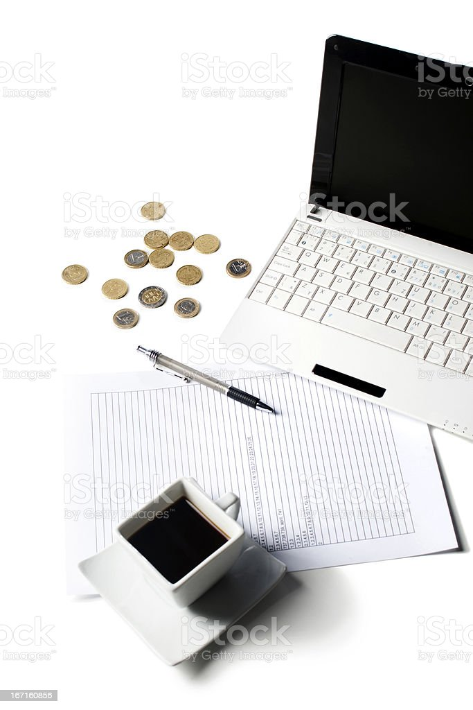 business table prosperity earn risk win grow money royalty-free stock photo